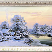 Pictures handmade. Livemaster - original item Oil painting on canvas
