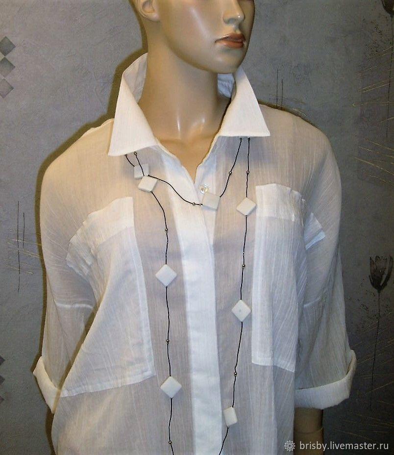 1936fdb0d6b Blouses handmade. Livemaster - handmade. Buy Blouse  oversize  from Maliki  (cotton ...
