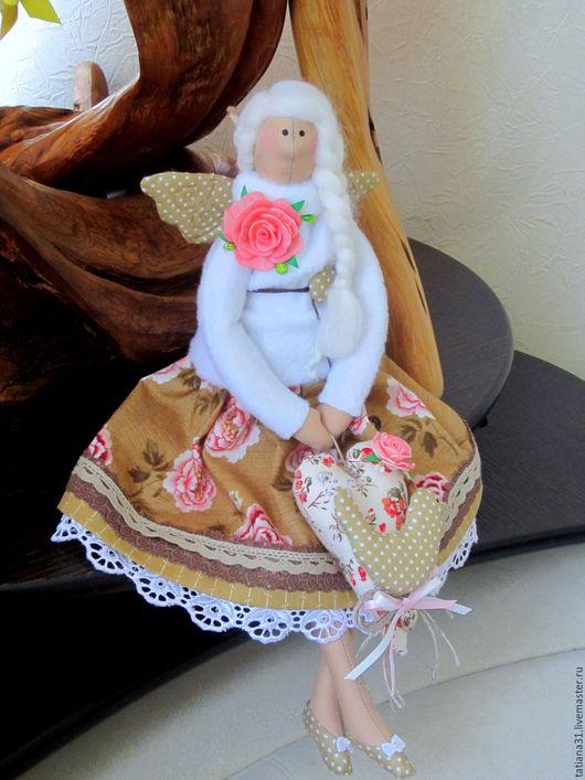Куклы Тильды ручной работы. Ярмарка Мастеров - ручная работа. Купить Тильда фея домашнего уюта. Handmade. Тильда кукла