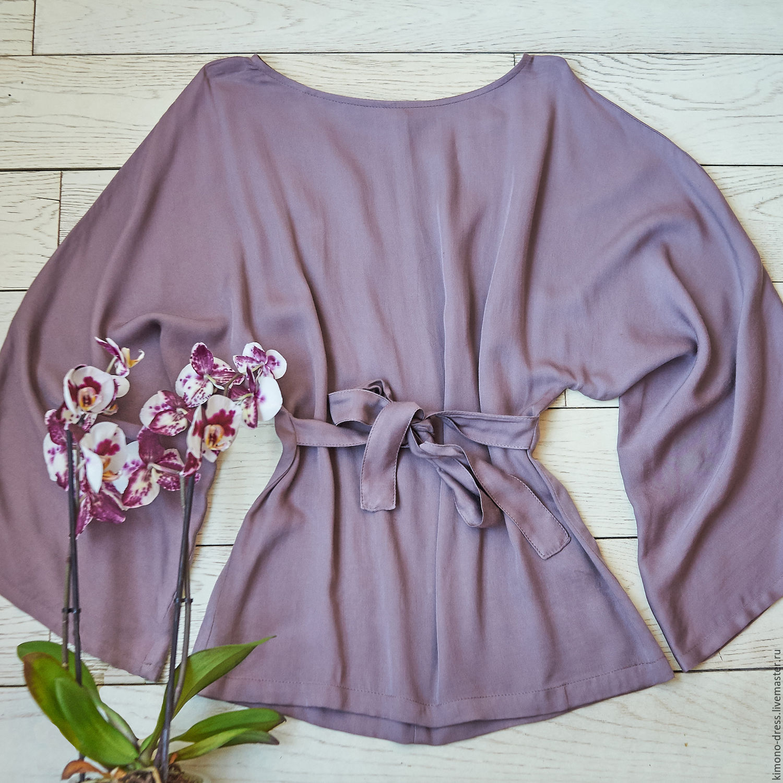 Фиолетовая блузка купить в интернет магазине