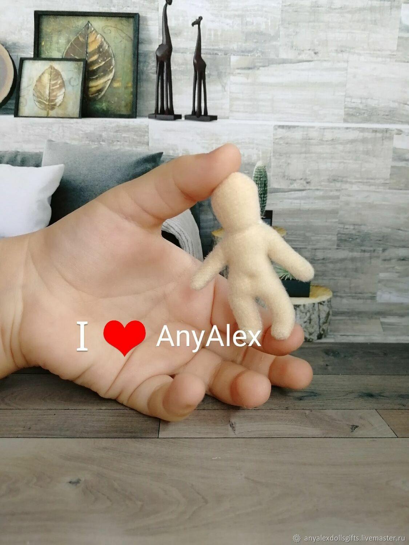 Заготовка куклы 5 см, Кукольные домики, Ачинск,  Фото №1