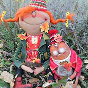 Куклы и игрушки ручной работы. Ярмарка Мастеров - ручная работа До свиданья,Лето.... Handmade.