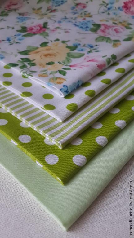Шитье ручной работы. Ярмарка Мастеров - ручная работа. Купить Набор тканей для творчества (пэчворк, тильда стиль и т. д.). Handmade.