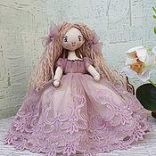 Куклы и пупсы ручной работы. Ярмарка Мастеров - ручная работа Текстильная кукла Жаклин. Handmade.