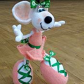 Мягкие игрушки ручной работы. Ярмарка Мастеров - ручная работа Балерина больших и малых.... Handmade.