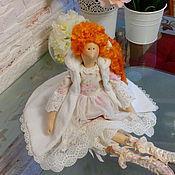 """Куклы и игрушки ручной работы. Ярмарка Мастеров - ручная работа Девочка """"ЗИМА"""". Handmade."""