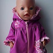 Куклы и игрушки ручной работы. Ярмарка Мастеров - ручная работа Плащ для беби бона ( baby born ). Handmade.