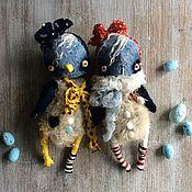 Куклы и игрушки ручной работы. Ярмарка Мастеров - ручная работа Птичка Монпансье. Handmade.