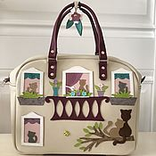 Сумки и аксессуары handmade. Livemaster - original item Bag made of genuine leather