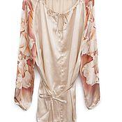 Одежда ручной работы. Ярмарка Мастеров - ручная работа Блуза Гладиолусы. Handmade.