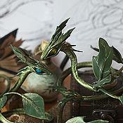 Куклы и игрушки ручной работы. Ярмарка Мастеров - ручная работа Драконы - Духи весенней листвы (большие). Handmade.