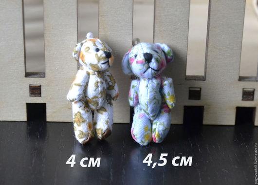 Куклы и игрушки ручной работы. Ярмарка Мастеров - ручная работа. Купить Мишки для кукол в ассортименте. Handmade. Комбинированный, мишка