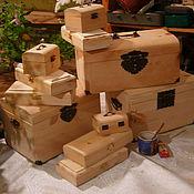 Сувениры и подарки ручной работы. Ярмарка Мастеров - ручная работа шкатулки из натурального дерева. Handmade.