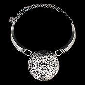 Украшения handmade. Livemaster - original item The necklace on pelegrine Trypillian circle. Handmade.