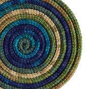 Аксессуары ручной работы. Ярмарка Мастеров - ручная работа Украшение на шею Lasso Greenland вязаное колье шарф бусы. Handmade.