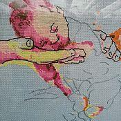 """Картины ручной работы. Ярмарка Мастеров - ручная работа Картина вышитая """" Божий Дар"""". Handmade."""