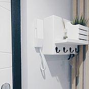 Для дома и интерьера handmade. Livemaster - original item Housekeepers:wood wall mounted close flap. Handmade.
