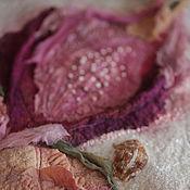 """Одежда ручной работы. Ярмарка Мастеров - ручная работа Кардиган из шерсти и шелка """"Фуксия"""". Handmade."""
