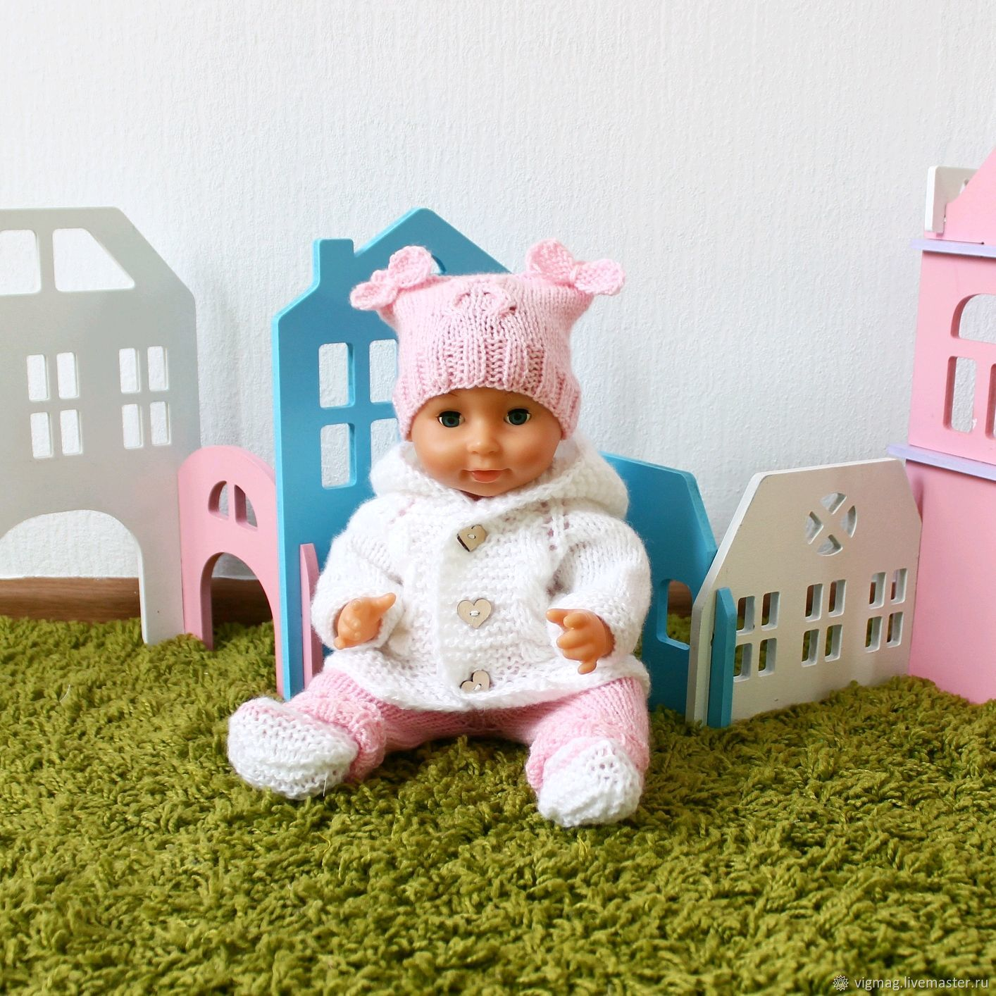 Baby born clothes, doll costume, doll clothes, Clothes for dolls, Ivanovo,  Фото №1