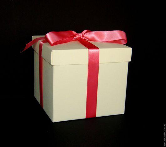 Упаковка ручной работы. Ярмарка Мастеров - ручная работа. Купить Коробки для цветочных букетов. Handmade. Бежевый, коробки, коробки для подарков