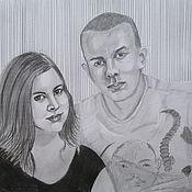 Картины и панно ручной работы. Ярмарка Мастеров - ручная работа Портрет на заказ. Handmade.