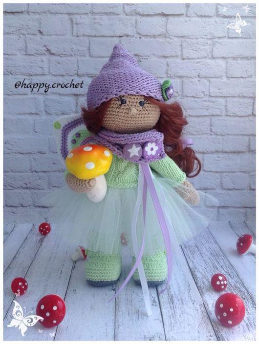 Коллекционные куклы ручной работы. Ярмарка Мастеров - ручная работа. Купить Бабочка. Handmade. Сиреневый, куклы и игрушки, крылья