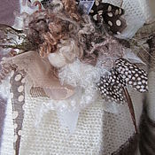 Одежда ручной работы. Ярмарка Мастеров - ручная работа Джемпер в полоску с хомутом. Handmade.