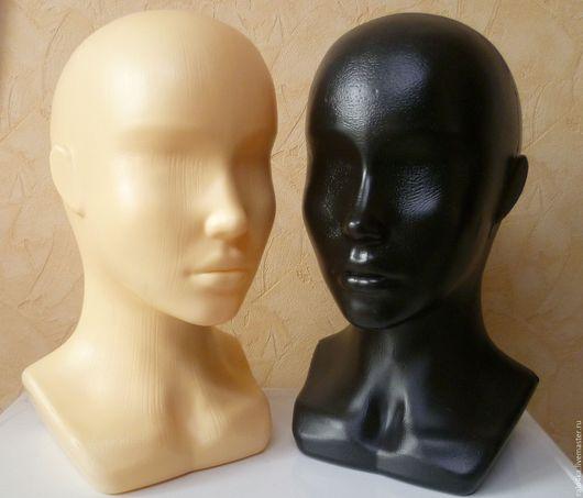 Манекены ручной работы. Ярмарка Мастеров - ручная работа. Купить Манекен Голова- два цвета. Handmade. Черный, манекен для бижутерии