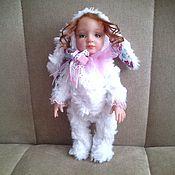 Куклы и игрушки ручной работы. Ярмарка Мастеров - ручная работа Тедди- долл Зайка. Handmade.