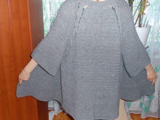 Кофты и свитера ручной работы. Ярмарка Мастеров - ручная работа. Купить Кардиган в серых тонах. Handmade. Серый