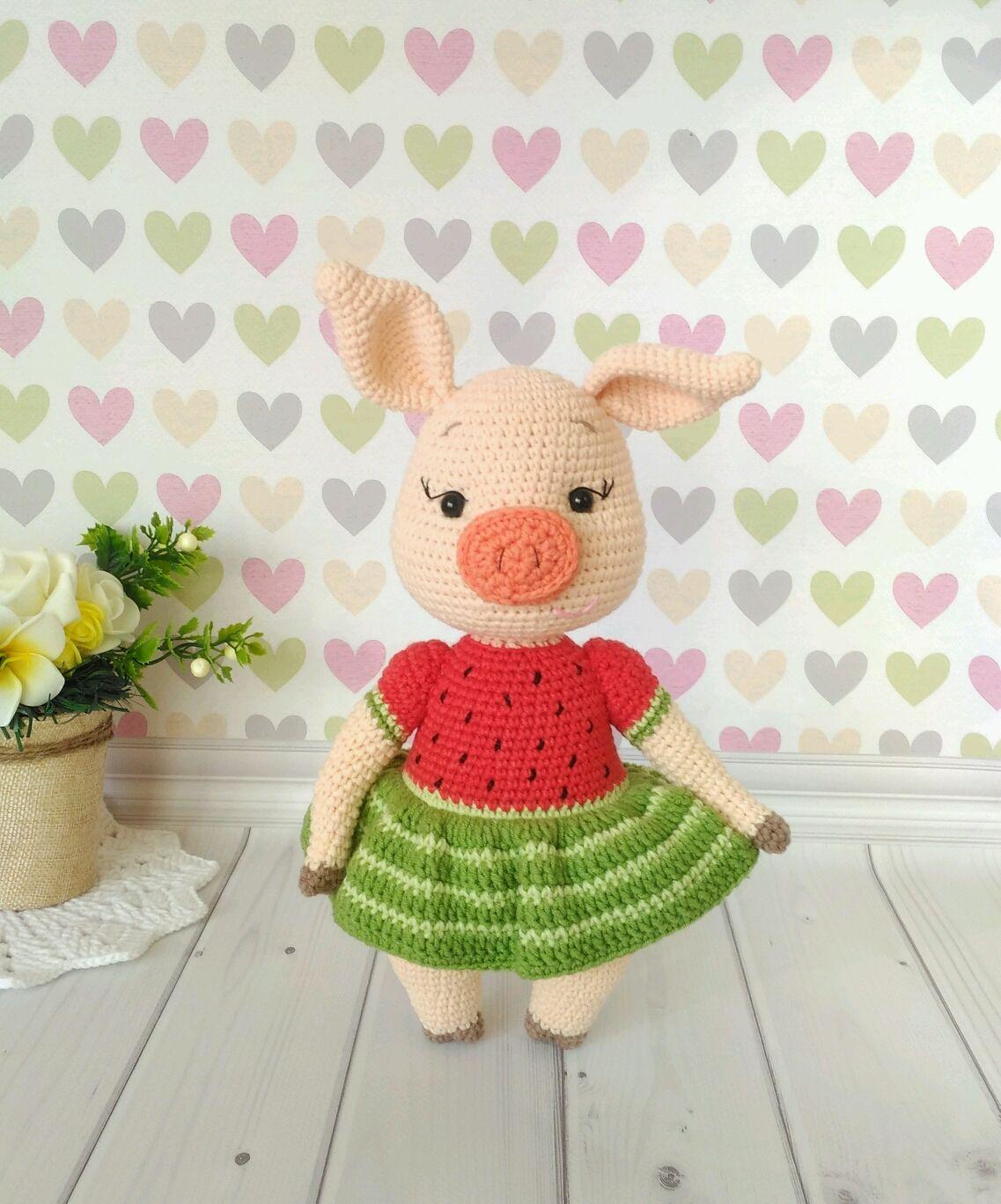 Pig toy soft pig Piglet, Stuffed Toys, Omsk,  Фото №1