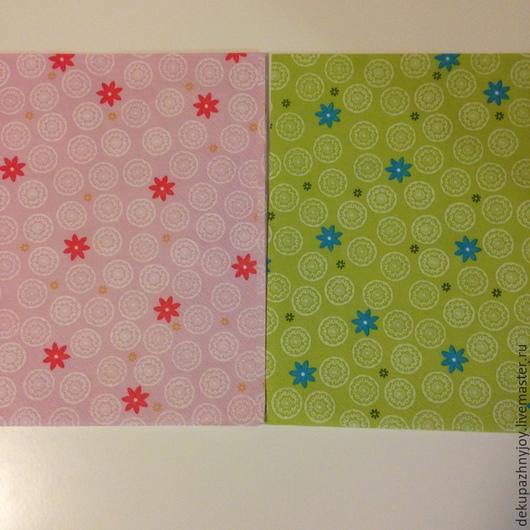 2 вида фоновые ромашки и цветочки - салфетка для декупажа Декупажная радость