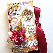 """Подарки к праздникам ручной работы. Ярмарка Мастеров - ручная работа шоколадница """"С Рождеством!"""". Handmade."""