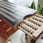 Материалы для творчества handmade. Livemaster - original item Letters for stamping English and Russian Times New Roman 5 mm. Handmade.