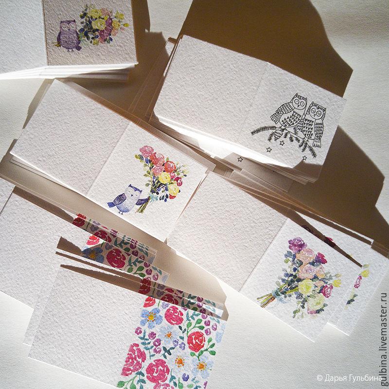 Картинки, маленькие открытки в букеты