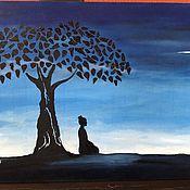"""Картины и панно handmade. Livemaster - original item Картина маслом """"Silence"""". Handmade."""