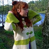 """Одежда ручной работы. Ярмарка Мастеров - ручная работа Пальто """"Фея леса"""". Handmade."""