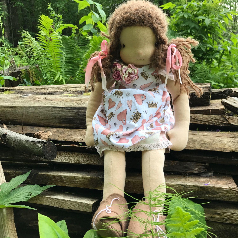 Кукла текстильная игровая Марфуша, 52 см, Вальдорфская игрушка, Пермь, Фото №1