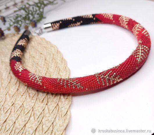 Karima necklace with Japanese beads, Necklace, Novocheboksarsk,  Фото №1