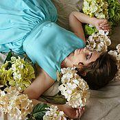 Одежда ручной работы. Ярмарка Мастеров - ручная работа Платье из креп шифона. Handmade.