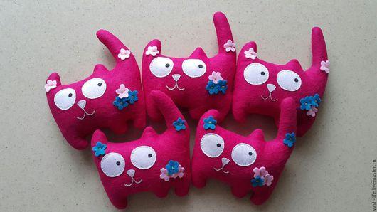 Ароматизированные куклы ручной работы. Ярмарка Мастеров - ручная работа. Купить Котики ароматизированные лечебными травами. Handmade. Комбинированный, кошка