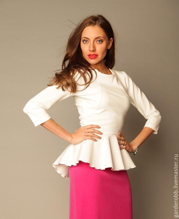 Блузка С Баской Доставка