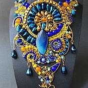 Украшения handmade. Livemaster - original item Bib - A Necklace Of Cleopatra. Handmade.