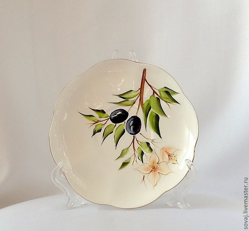 Tea Sets handmade. Livemaster - handmade. Buy Decorative vase with painted 'Under the sun of Italy'.Gift