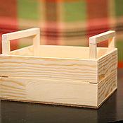 Ящики ручной работы. Ярмарка Мастеров - ручная работа ящик деревянный. Handmade.
