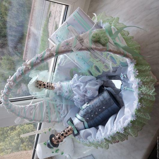 Свадебные аксессуары ручной работы. Ярмарка Мастеров - ручная работа. Купить Свадебные наборы. Handmade. Мятный, свадебные аксессуары