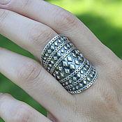Украшения handmade. Livemaster - original item Boho ring made of 925 sterling silver GA0054. Handmade.