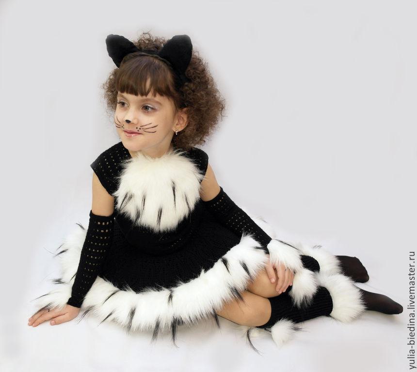Костюм кота для девочек своими руками фото 774