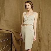 Одежда handmade. Livemaster - original item Top linen. Handmade.