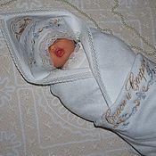 """Работы для детей, ручной работы. Ярмарка Мастеров - ручная работа Рубашка и крыжма-""""Григорий"""". Handmade."""